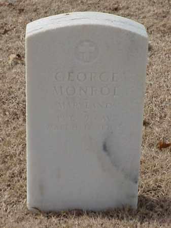 MONROE (VETERAN UNION), GEORGE - Pulaski County, Arkansas | GEORGE MONROE (VETERAN UNION) - Arkansas Gravestone Photos