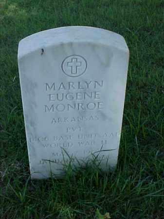 MONROE (VETERAN WWII), MARLYN EUGENE - Pulaski County, Arkansas | MARLYN EUGENE MONROE (VETERAN WWII) - Arkansas Gravestone Photos
