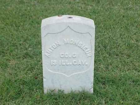 MONSIEUR (VETERAN UNION), ANTON - Pulaski County, Arkansas | ANTON MONSIEUR (VETERAN UNION) - Arkansas Gravestone Photos