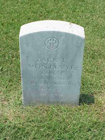 MONTANYE (VETERAN 3 WARS), ZACK E - Pulaski County, Arkansas | ZACK E MONTANYE (VETERAN 3 WARS) - Arkansas Gravestone Photos