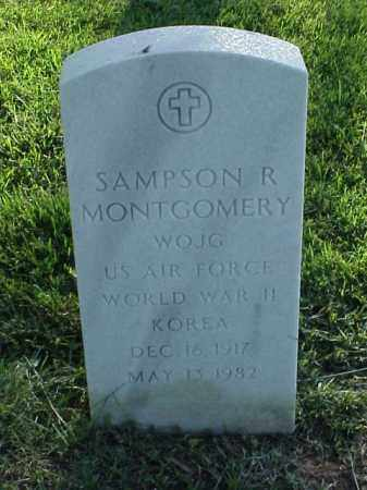 MONTGOMERY (VETERAN 2 WARS), SAMPSON R - Pulaski County, Arkansas | SAMPSON R MONTGOMERY (VETERAN 2 WARS) - Arkansas Gravestone Photos