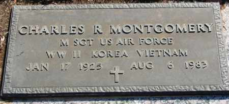 MONTGOMERY (VETERAN 3 WARS), CHARLES R - Pulaski County, Arkansas | CHARLES R MONTGOMERY (VETERAN 3 WARS) - Arkansas Gravestone Photos