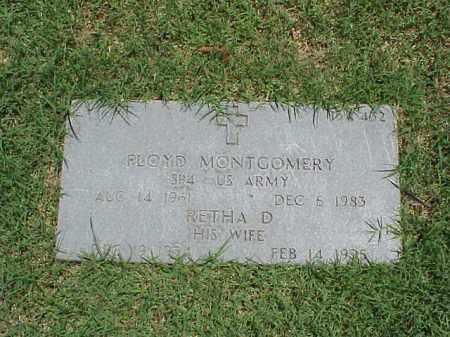 MONTGOMERY (VETERAN KOR), FLOYD - Pulaski County, Arkansas | FLOYD MONTGOMERY (VETERAN KOR) - Arkansas Gravestone Photos