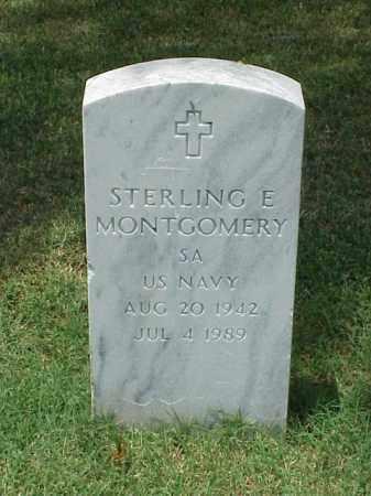 MONTGOMERY (VETERAN), STERLING E - Pulaski County, Arkansas | STERLING E MONTGOMERY (VETERAN) - Arkansas Gravestone Photos
