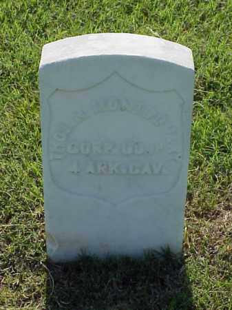 MONTGOMERY (VETERAN UNION), THOMAS N - Pulaski County, Arkansas | THOMAS N MONTGOMERY (VETERAN UNION) - Arkansas Gravestone Photos