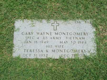 MONTGOMERY, TERESSA K - Pulaski County, Arkansas | TERESSA K MONTGOMERY - Arkansas Gravestone Photos