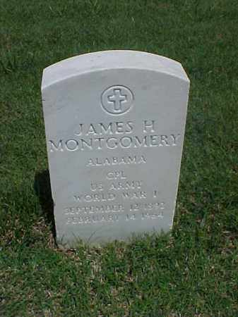 MONTGOMERY (VETERAN WWI), JAMES H - Pulaski County, Arkansas | JAMES H MONTGOMERY (VETERAN WWI) - Arkansas Gravestone Photos