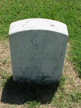 MONTGOMERY (VETERAN WWII), FRANK H - Pulaski County, Arkansas | FRANK H MONTGOMERY (VETERAN WWII) - Arkansas Gravestone Photos