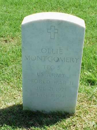 MONTGOMERY (VETERAN WWII), OLLIE - Pulaski County, Arkansas | OLLIE MONTGOMERY (VETERAN WWII) - Arkansas Gravestone Photos