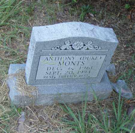 "MONTS, ANTHONY ""DUKE"" - Pulaski County, Arkansas 
