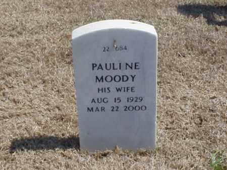 MOODY, PAULINE - Pulaski County, Arkansas | PAULINE MOODY - Arkansas Gravestone Photos