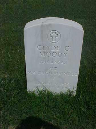 MOODY (VETERAN), CLYDE G - Pulaski County, Arkansas | CLYDE G MOODY (VETERAN) - Arkansas Gravestone Photos