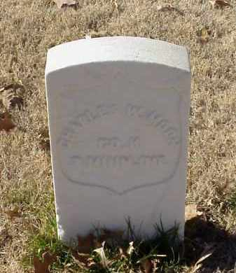 MOON (VETERAN UNION), CHARLES W - Pulaski County, Arkansas | CHARLES W MOON (VETERAN UNION) - Arkansas Gravestone Photos