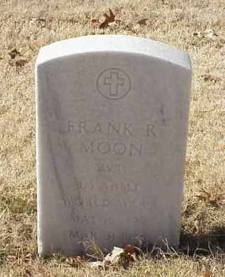 MOON (VETERAN WWI), FRANK R - Pulaski County, Arkansas | FRANK R MOON (VETERAN WWI) - Arkansas Gravestone Photos