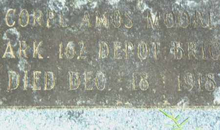 MOORE  (VETERAN), AMOS - Pulaski County, Arkansas | AMOS MOORE  (VETERAN) - Arkansas Gravestone Photos