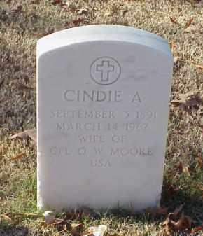 MOORE, CINDIE A - Pulaski County, Arkansas | CINDIE A MOORE - Arkansas Gravestone Photos