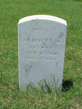 MOORE, FRANCES M. - Pulaski County, Arkansas | FRANCES M. MOORE - Arkansas Gravestone Photos