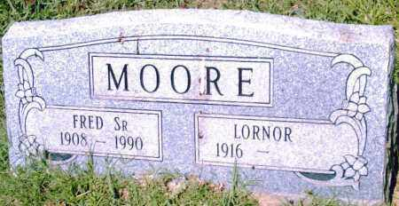 MOORE, SR., FRED - Pulaski County, Arkansas | FRED MOORE, SR. - Arkansas Gravestone Photos