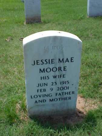 MOORE, JESSIE MAE - Pulaski County, Arkansas | JESSIE MAE MOORE - Arkansas Gravestone Photos