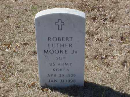 MOORE, JR  (VETERAN KOR), ROBERT LUTHER - Pulaski County, Arkansas | ROBERT LUTHER MOORE, JR  (VETERAN KOR) - Arkansas Gravestone Photos