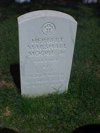 MOORE, JR (VETERAN WWII), HERBERT MARSHALL - Pulaski County, Arkansas | HERBERT MARSHALL MOORE, JR (VETERAN WWII) - Arkansas Gravestone Photos