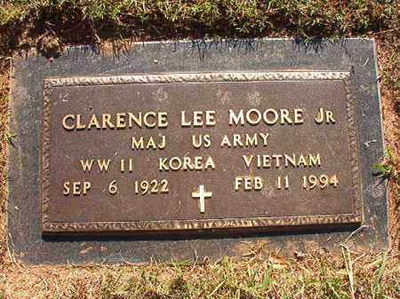 MOORE, JR (VETERAN), CLARENCE LEE - Pulaski County, Arkansas | CLARENCE LEE MOORE, JR (VETERAN) - Arkansas Gravestone Photos