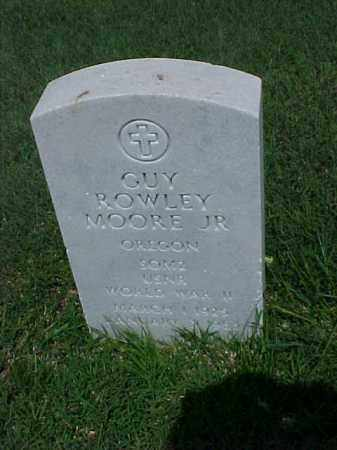 MOORE, JR (VETERAN WWII), GUY ROWLEY - Pulaski County, Arkansas | GUY ROWLEY MOORE, JR (VETERAN WWII) - Arkansas Gravestone Photos
