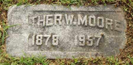 MOORE, LUTHER W. - Pulaski County, Arkansas | LUTHER W. MOORE - Arkansas Gravestone Photos