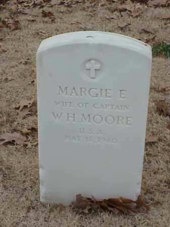 MOORE, MARGIE E. - Pulaski County, Arkansas | MARGIE E. MOORE - Arkansas Gravestone Photos