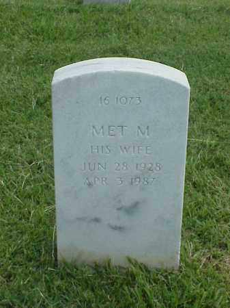 MOORE, MET M. - Pulaski County, Arkansas | MET M. MOORE - Arkansas Gravestone Photos