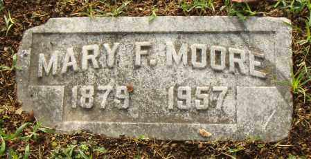 MOORE, MARY F. - Pulaski County, Arkansas | MARY F. MOORE - Arkansas Gravestone Photos