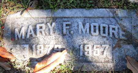MOORE, MARY F - Pulaski County, Arkansas | MARY F MOORE - Arkansas Gravestone Photos