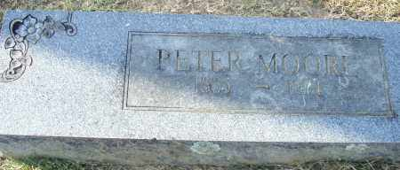 MOORE, PETER - Pulaski County, Arkansas | PETER MOORE - Arkansas Gravestone Photos