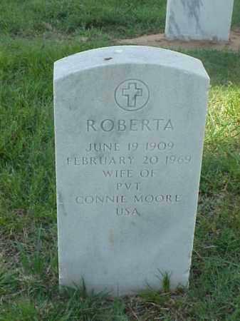 MOORE, ROBERTA - Pulaski County, Arkansas | ROBERTA MOORE - Arkansas Gravestone Photos