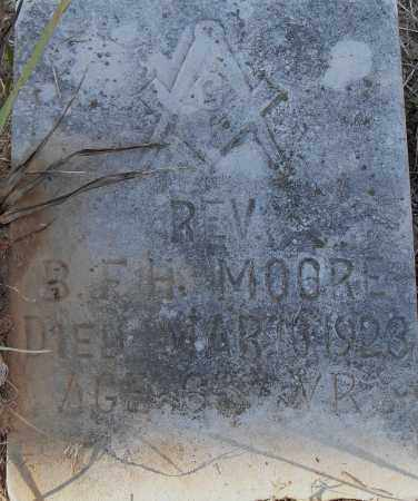 MOORE REV, B F H - Pulaski County, Arkansas | B F H MOORE REV - Arkansas Gravestone Photos