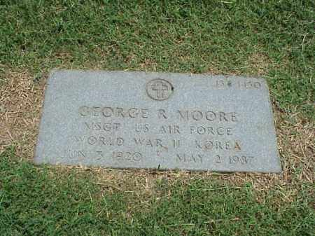 MOORE (VETERAN 2 WARS), GEORGE R - Pulaski County, Arkansas | GEORGE R MOORE (VETERAN 2 WARS) - Arkansas Gravestone Photos