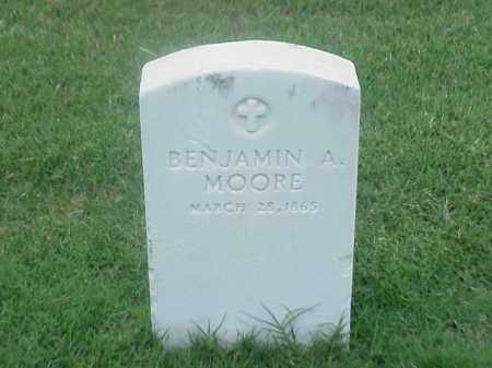 MOORE, BENJAMIN A - Pulaski County, Arkansas | BENJAMIN A MOORE - Arkansas Gravestone Photos