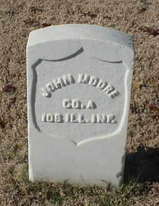 MOORE (VETERAN UNION), JOHN - Pulaski County, Arkansas | JOHN MOORE (VETERAN UNION) - Arkansas Gravestone Photos