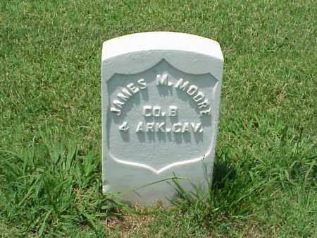 MOORE (VETERAN UNION), JAMES M - Pulaski County, Arkansas | JAMES M MOORE (VETERAN UNION) - Arkansas Gravestone Photos