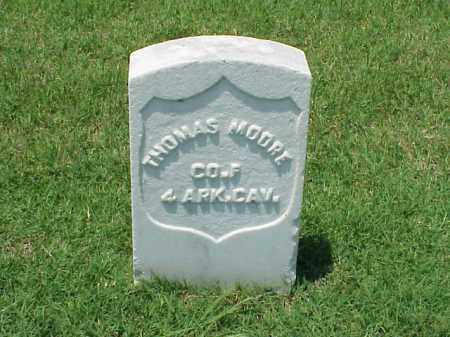MOORE (VETERAN UNION), THOMAS - Pulaski County, Arkansas | THOMAS MOORE (VETERAN UNION) - Arkansas Gravestone Photos