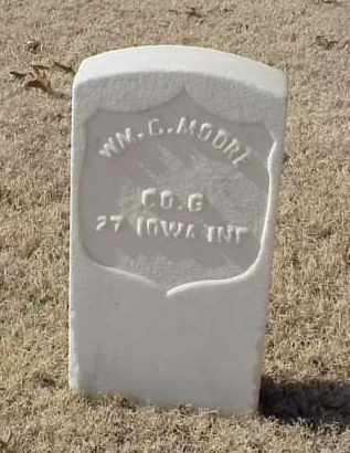 MOORE (VETERAN UNION), WILLIAM C - Pulaski County, Arkansas | WILLIAM C MOORE (VETERAN UNION) - Arkansas Gravestone Photos