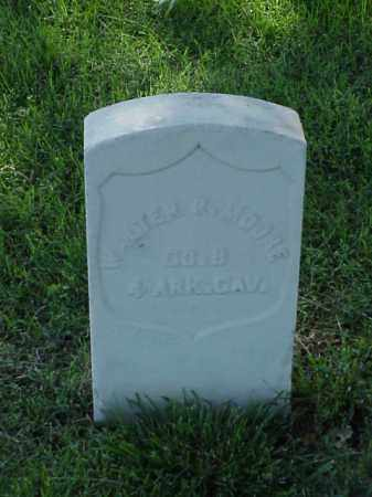 MOORE (VETERAN UNION), WALTER R - Pulaski County, Arkansas | WALTER R MOORE (VETERAN UNION) - Arkansas Gravestone Photos