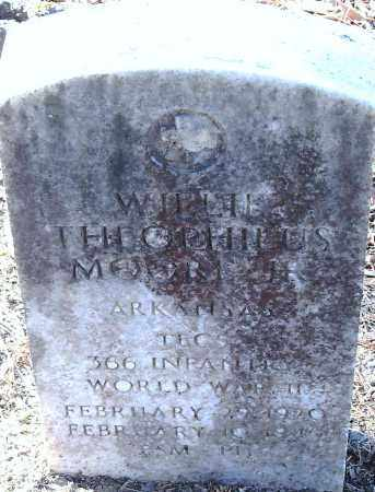 MOORE (VETERAN WWII), WILLIE THEOPHILUS - Pulaski County, Arkansas | WILLIE THEOPHILUS MOORE (VETERAN WWII) - Arkansas Gravestone Photos
