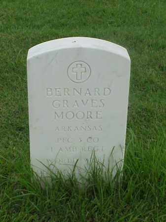 MOORE (VETERAN WWI), BERNARD GRAVES - Pulaski County, Arkansas | BERNARD GRAVES MOORE (VETERAN WWI) - Arkansas Gravestone Photos