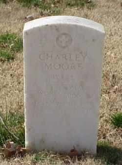 MOORE (VETERAN WWI), CHARLEY - Pulaski County, Arkansas | CHARLEY MOORE (VETERAN WWI) - Arkansas Gravestone Photos