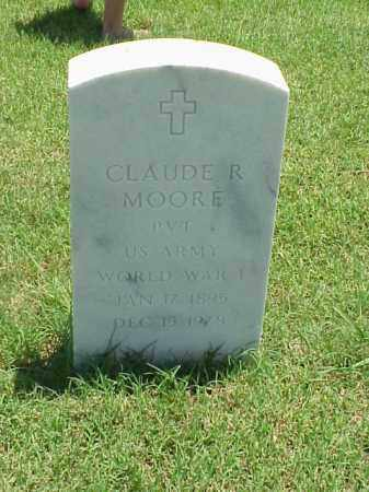 MOORE (VETERAN WWI), CLAUDE R - Pulaski County, Arkansas | CLAUDE R MOORE (VETERAN WWI) - Arkansas Gravestone Photos