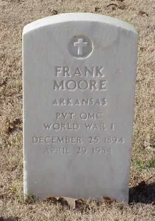 MOORE (VETERAN WWI), FRANK - Pulaski County, Arkansas | FRANK MOORE (VETERAN WWI) - Arkansas Gravestone Photos