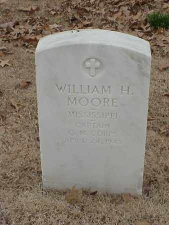 MOORE (VETERAN WWI), WILLIAM H - Pulaski County, Arkansas | WILLIAM H MOORE (VETERAN WWI) - Arkansas Gravestone Photos