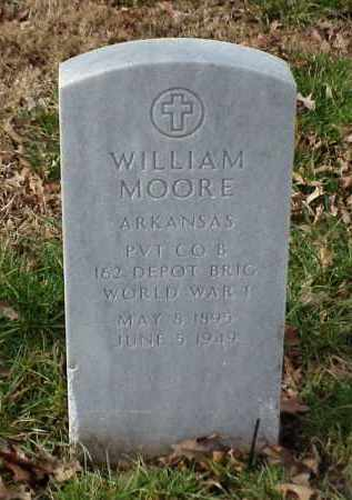 MOORE (VETERAN WWI), WILLIAM - Pulaski County, Arkansas | WILLIAM MOORE (VETERAN WWI) - Arkansas Gravestone Photos