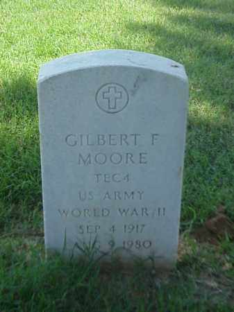 MOORE (VETERAN WWII), GILBERT F - Pulaski County, Arkansas | GILBERT F MOORE (VETERAN WWII) - Arkansas Gravestone Photos